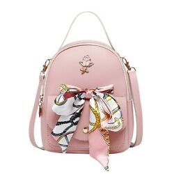Fashion Mini Backpack Purse for Women amp; Teen Girls Color PINK $15.00