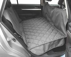 Floppy Ears Design Hammock Style Car/suv Seat Protector With Built In Back Se...
