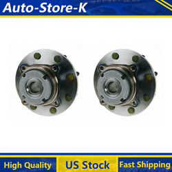 For 1999 Ford F-250 Super Duty Front Wheel Bearing And Hub Assembly - Moog 2pcs