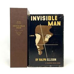 Invisible Man Ralph Ellison. First Edition 1st Printing W/ Custom Case.