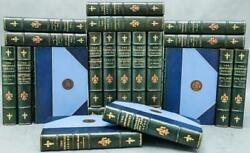 Scarce 1905 The Immortals Series Illustrated Color Plates Fine Leather