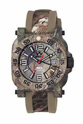 Reactor Menand039s Gryphon Stainless Steel Swiss-quartz Sport Watch With Rubber St...
