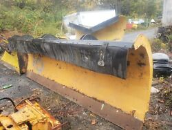 Heavy Duty Power Angle / 11' Ft / Snow Plow / Hydraulic / Truck Tractor