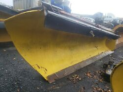 Heavy Duty Roll Plow To Right / 10' Ft / Snow Plow / Mechanical / Truck Tractor