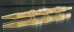 Vintage Yellow Gold Ball Point Pen