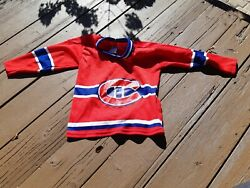 Montreal Canadiens Vintage Ccm Child/youth L Large Jersey Made In Canada