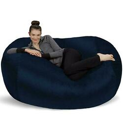 Big Bean Bag Oversized Adult Chair Huge Dorm Furniture 6 ft Sofa Lounger Couch