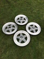 Genuine Bbs Strosek 16andrdquo 5x114/34 Bolt Bbs Rs Rare As Hens Teeth Centres Only
