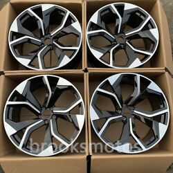 22 New Style Forged Wheels Rims Fits 2005-2015 Audi Q7 22x10 5x130 Offset45