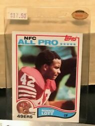 Ronnie Lott All Pro Card Topps 486 Mint Condition
