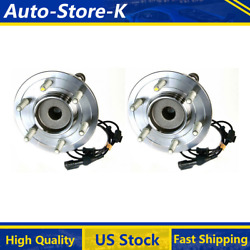 Fits 2004 Ford Expedition Rwd Front Wheel Bearing And Hub Assembly - Moog 2pcs
