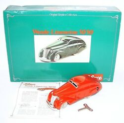 Schuco Germany Maybach Wende-limousine 1010 Wind-up Tin Toy Car Mib`80 Top Rare