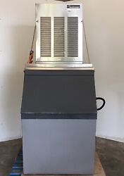 Scotsman Ice Machine Nme654a-1b 700lb Unit Self Contained Free Ice Bin Optional