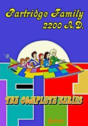 Rare Partridge Family 2200 A.D. Animated Series Complete