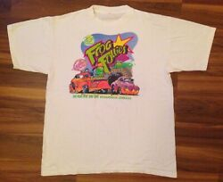 Vtg Evansville 20th Frog Follies 1993 T-shirt Hot Rod Racing Indiana Size Large