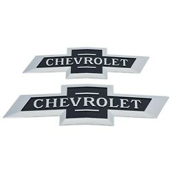Oem New 18-20 Chevrolet Grille And Tailgate Centennial 100 Bowtie Emblems 84459956