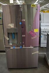 Ge Gfd28gynfs 36 Stainless French Door Refrigerator Nob 102194