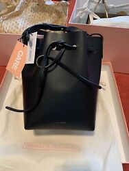 Authentic Mansur Gavriel Mini bucket bag BLACK Ballerina $345.00