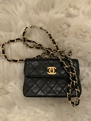 Vintage Chanel Lambskin Quilted Small Purse $2001.00