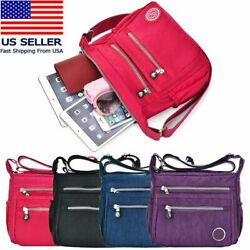 Waterproof Messenger Cross Body Ladies Handbag Bag Shoulder Bag Womens Purse US $12.68
