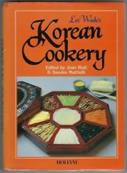 Cookbook Korean Cookery Lee Wadeand039s Asian Cooking Illustrated