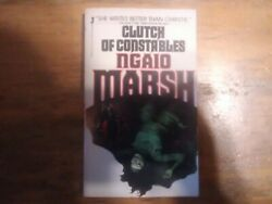 Clutch of Constables by Ngaio Marsh 1981 Mass Market $6.00