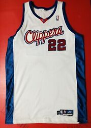 Authentic Matt Barnes Los Angeles Clippers Game Used Worn Jersey Sewn Procut 50