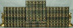 1904 Works Of William H Prescott Aztec Edition 8/250 Blackwell Binding Leather