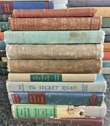 Lot Of 100 Antique Collectible Vintage Old Rare Hard To Find Books Mix Random