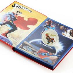 Tuvalu 5 Dollars Superman Dc Proof Silver Coin 2008