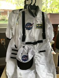 NASA Space Suit Kids' Costumes 2 3 and 4 6 Matched Pair NWT