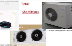 New 3.50 Hp Remoteandnbspcold Room Package For Rooms Volume Up To 95 Cubic M - 240v