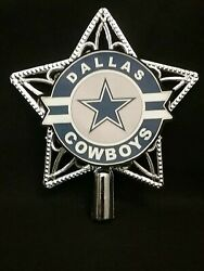 The Dallas Cowboys Football inspired Christmas Tree Topper Ornament ornaments