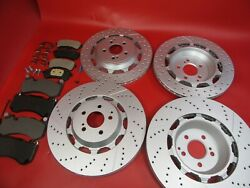 Mercedes S63 S65 Amg Front And Rear Brake Pads + Rotors 309 Topeuro