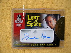 Lost In Space 2005 Rittenhouse Complete 33 Of 50 Cut Signature Jonathan Harris