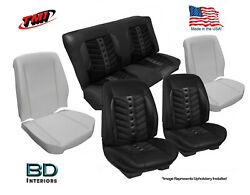 Sport Vxr Custom Seat Upholstery And Foam 1966 1967 Chevy Chevelle Convertibleand039s