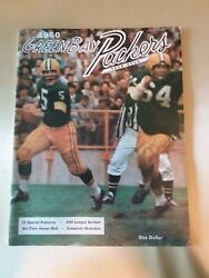 1960 Green Bay Packers Yearbook - Excellent To Near Mint First Year