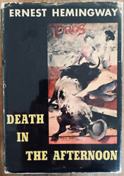 Signed Ernest Hemingway Death In The Afternoon Scribnerand039s 1960 Bullfighting Hc
