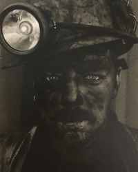 Colin Jones -coal Miner Seven Sisters Colliery 1997 Signed Print. Bargain Price