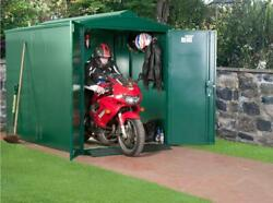 Asgard 9x5 Centurion Secure Motorcycle Storage Shed -assembly Service Available