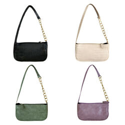 Alligator Pattern Handbag Totes Women Leather Female Underarm Shoulder Bag $10.19
