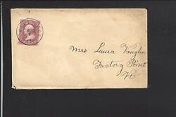 Williston,vermont.65 Cover With S.o.n. Cancel . Chittenden Co. 1803/open.