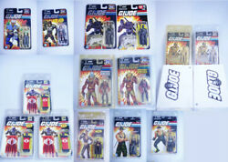 G.i. Joe 25th - 14 Pcs. Lot Of Exclusive, Convention And Sdcc