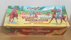 Britains Ltd 132 Power Riders Wild West Cowboys And Indians Full Counterpack