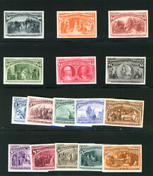 Malack 230p4 - 245p4 Superb Proofs On Card Each Sta..more.. B1951
