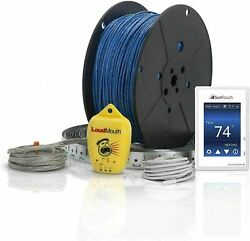 Suntouch Warmwire 140 Sq Ft Electric Floor Heating Wire Kit 3 Spacing 12w/sq Ft