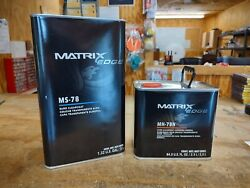 Matrix System Ms-78 Euro Style Clearcoat Kit. Normal Or Slow Hardener.
