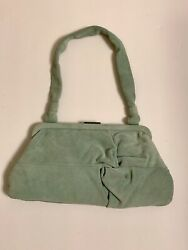 Banana Republic Evening Suede Hand Bag New with tag $35.00