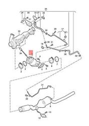 Genuine Vw Crafter Scb Scc Syb Syc Syd Syi Syj Catalytic Converter 2n0254202jx