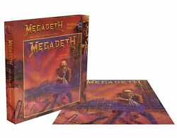 Megadeth Jigsaw Puzzle Peace Sells...but Whos Buying Album Official 500 Piece